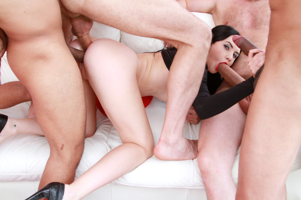 Slow riding cock for creampie video